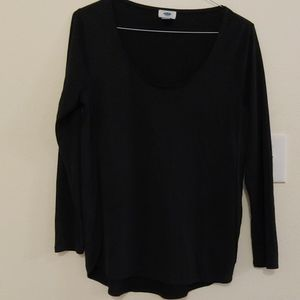 Old Navy black blouse M